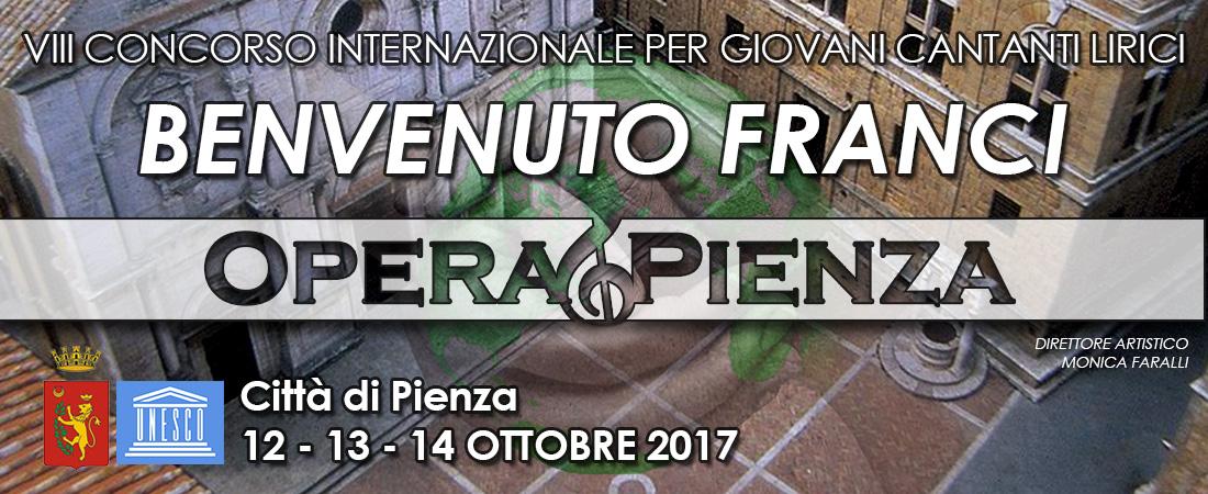 """I Premi del VIII Concorso per Cantanti Lirici """"Benvenuto Franci"""" 2017"""